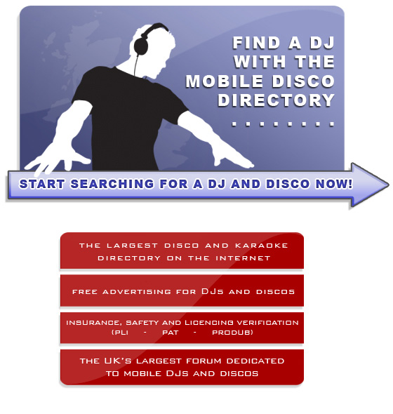 Mobile Disco Directory Wedding DJ Directory